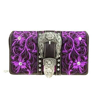 Montana West Buckle Collection Wallet/Wristlet